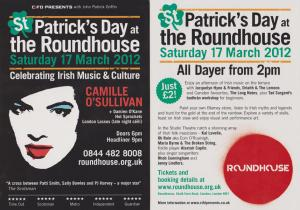 St Patrick's Day Festival at the Roundhouse 2012